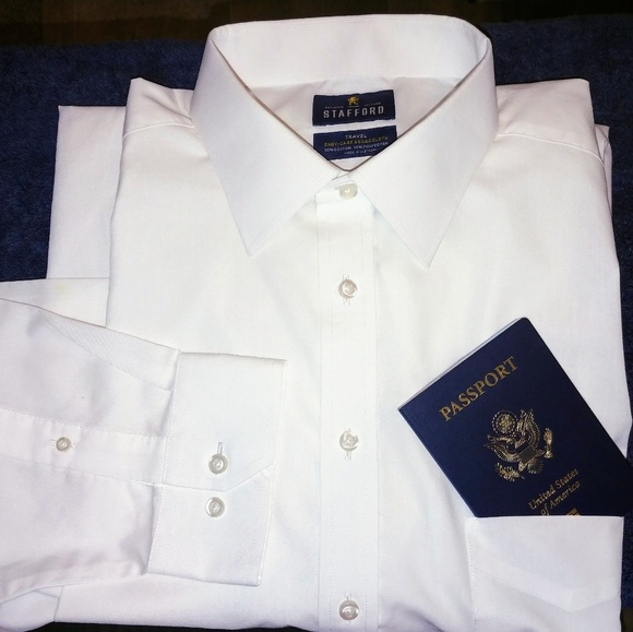 Stafford Other - Stafford Travel Dress Shirt 18 x 36